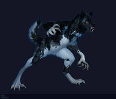 Commission: Lunetta Werewolf by AshKerins