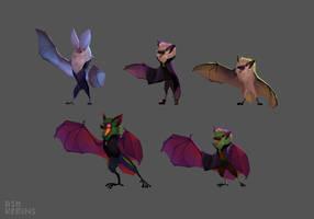 Bat concepts by AshKerins