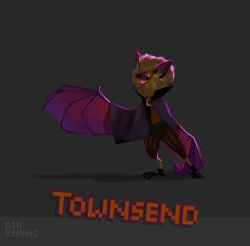 Townsend Bat Final Concept by AshKerins