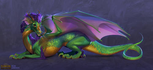 The Furcadia Dragon