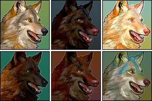Remap wolf colour tests by AshKerins
