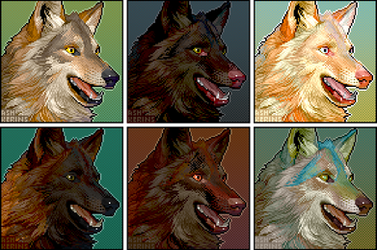 Remap wolf colour tests