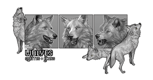 Wolves: Sprites and Icons