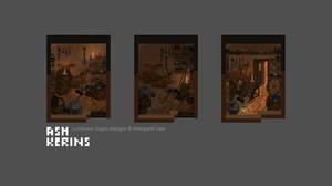 Luminare Saga RPG Room Concepts by AshKerins