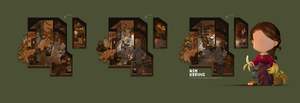 Luminare Saga RPG Room Concepts by AshKerins