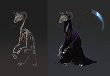 Death Concept by AshKerins