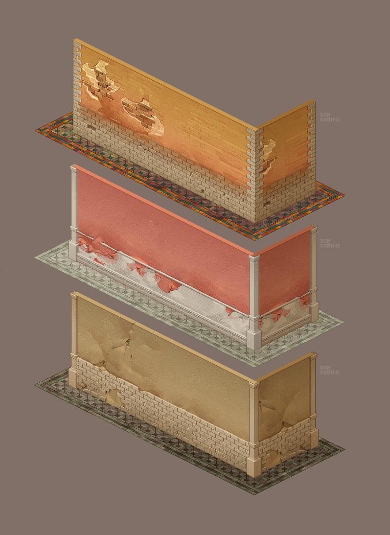 Pixel Walls by AshKerins