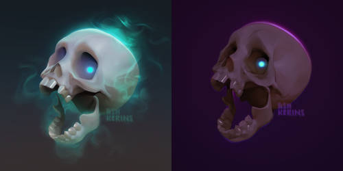 Skull Icon Update 2020 and 2017