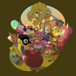 Happy Birthday Animal Crossing New Horizons