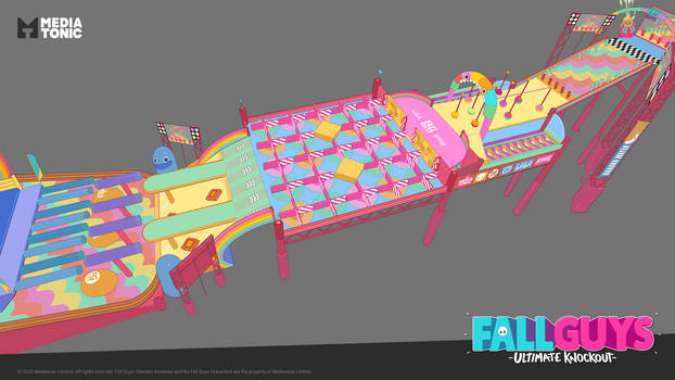 Fall Guys: Hit Parade Concept