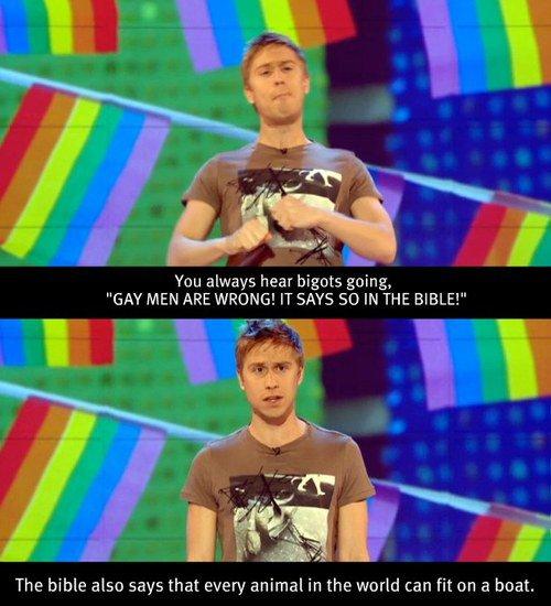 The bigots say... by Hidrang3a