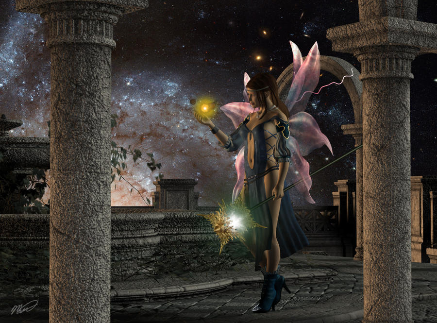 Celestial Fountain by Voldemorton