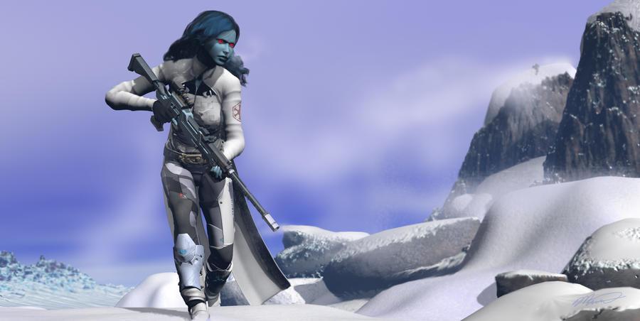 Neltaria, Imperial Sniper by Voldemorton