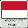 Indonesian Language Level: Expert by Shichi-4134