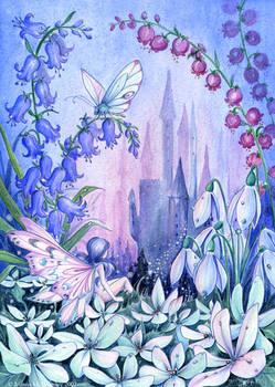 Twilight Fairy Castle