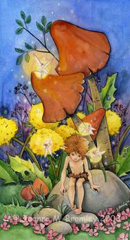Dandelion Perch