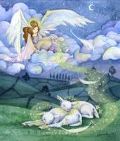 Angelic Slumber by JoannaBromley