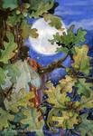 Autumn Moon by JoannaBromley