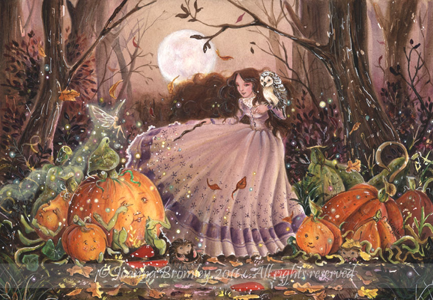 Autumn Faery Witch by JoannaBromley