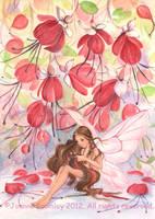 Fuchsia Fairy by JoannaBromley