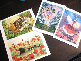 5x 7 Etsy archival prints by JoannaBromley