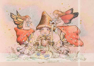 Faery Shroom Tea Party