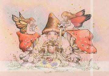 Faery Shroom Tea Party