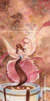 Hot Chocolate Fairy  by JoannaBromley