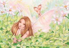 Four Leaf Clover Fairy by JoannaBromley