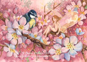 Sprig and Blossom 2014 by JoannaBromley