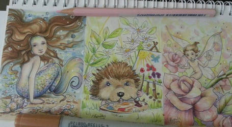 Aceo work