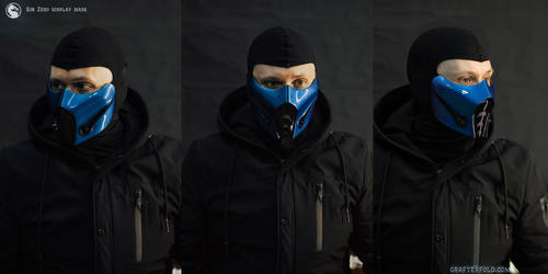 Mortal Kombat - Sub-Zero mask
