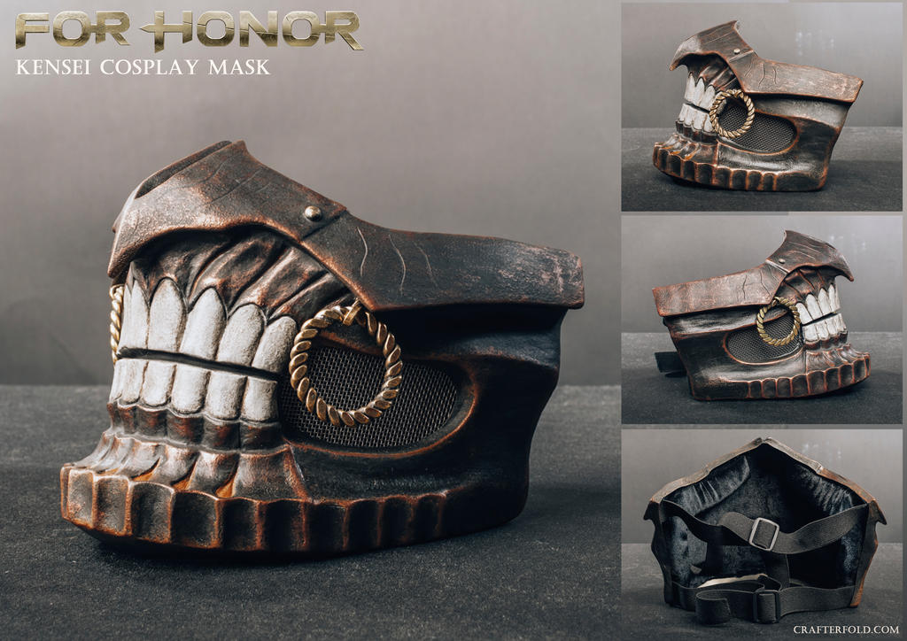 For Honor Kensei cosplay mask