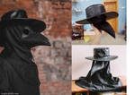 Plague Doctor mask by CrafterFold