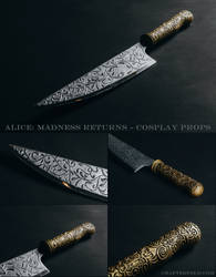 Alice: Madness Returns cosplay props