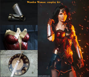 Wonder Woman Cosplay Kit