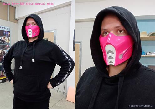 mortal kombat  Hello Kitty style mask