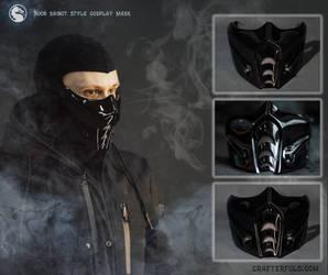 mortal kombat Noob Saibot style mask