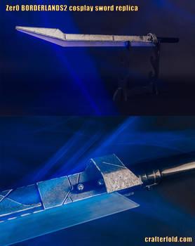 Zer0 Borderlands2 cosplay sword replica
