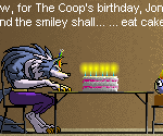 Jon Talbain and Smiley Birthday by The-Coop