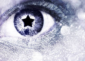 Glitter Bokeh Star Eye by Kizuna-chan
