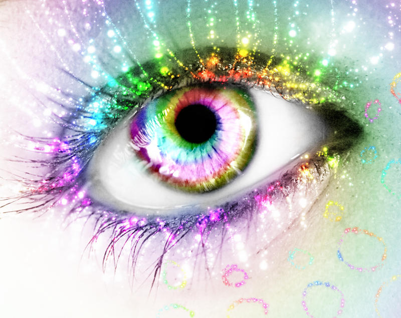 .-.Rainbow Eye.-. by Kizuna-chan on DeviantArt