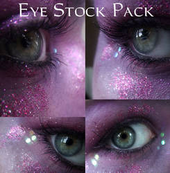 Purple Eye Stock Pack