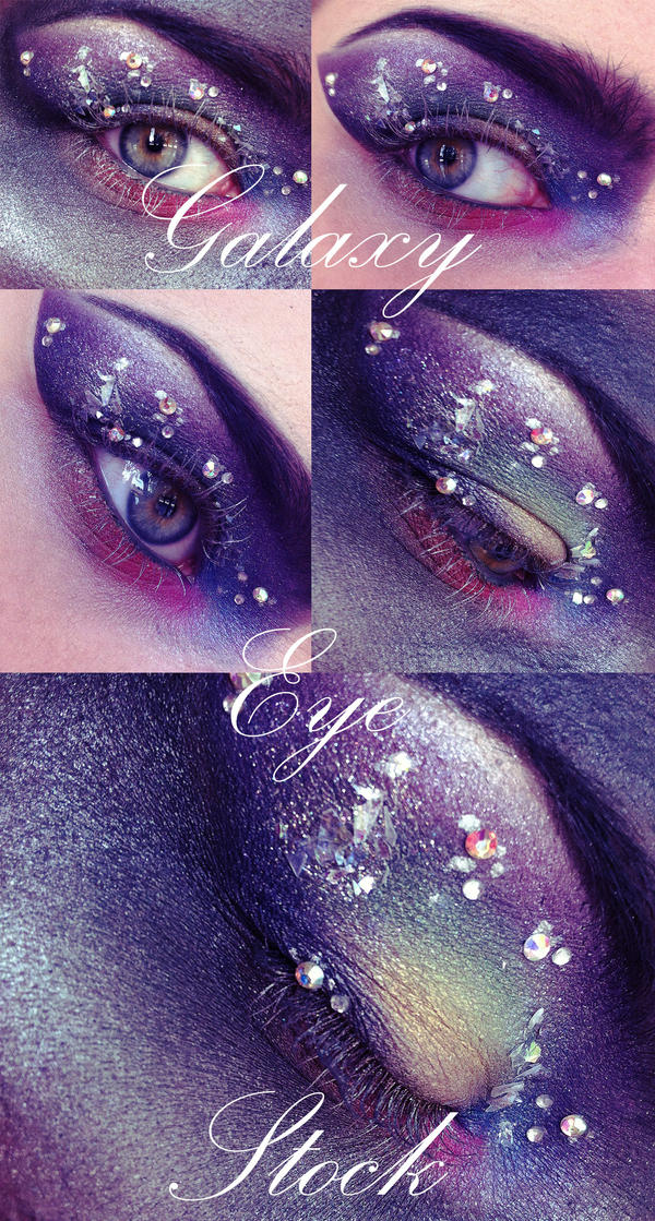 Galaxy Eye Stock Pack by Kizuna-chan