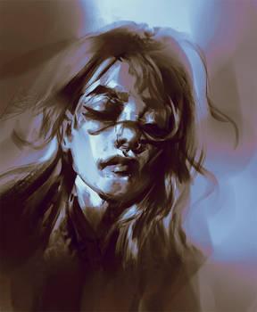 50 min head sketch