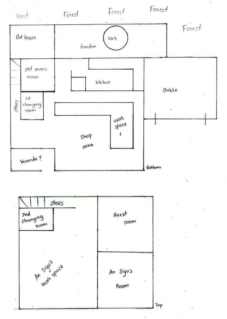 An Siyus Shop Interior Design WIP By XaraTheCat