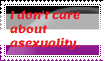 I don't care about asexuality by WingedMagic02