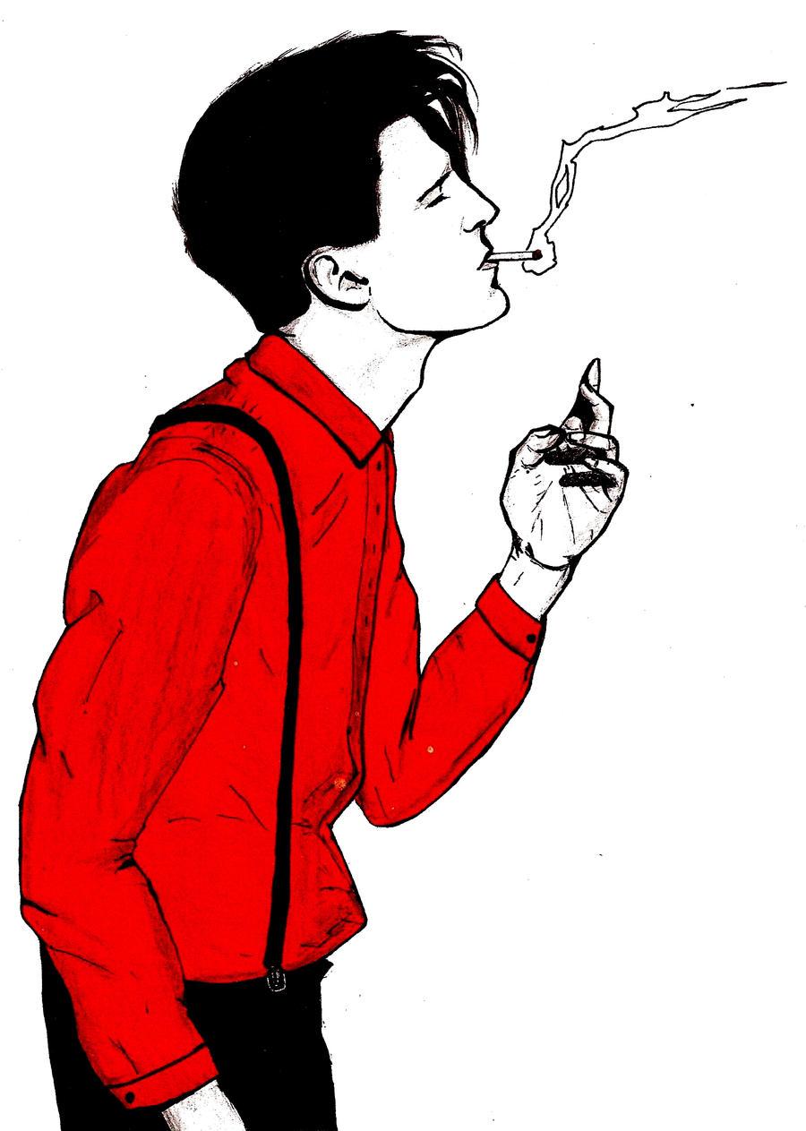 Cigarette Drawing Tumblr Traffic Club