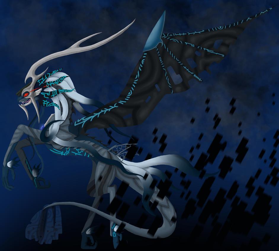 Twilit Kamui Dragon by MagDra on DeviantArt