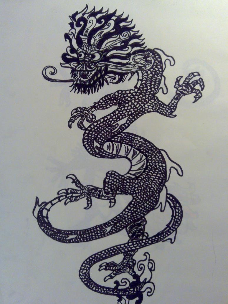 Korean Dragons Mythology: Korean Dragon By StrawberryRunner On DeviantArt